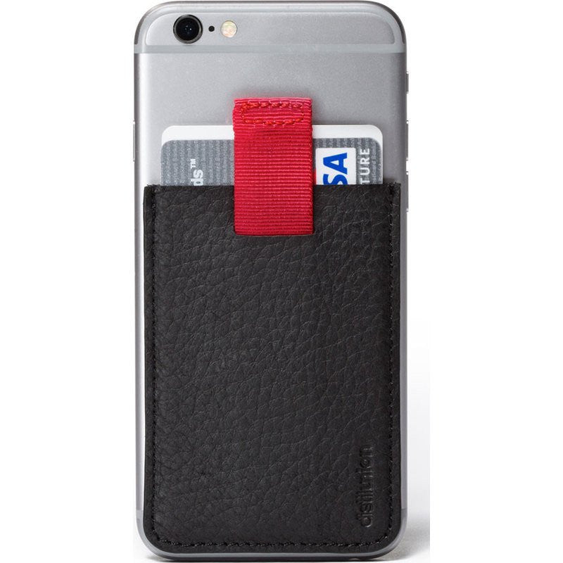 Distil Union Wally Junior Stick-on Wallet | Ninja Black WU201