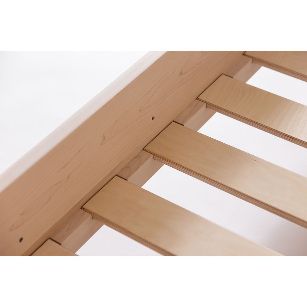 Kalon Divan Twin Wood Bed Frame | Raw
