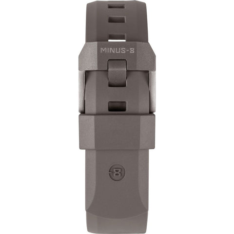 Minus-8 Diver Tan Matte Rubber Watch Strap | Gray Hardware P024-013S_TAN