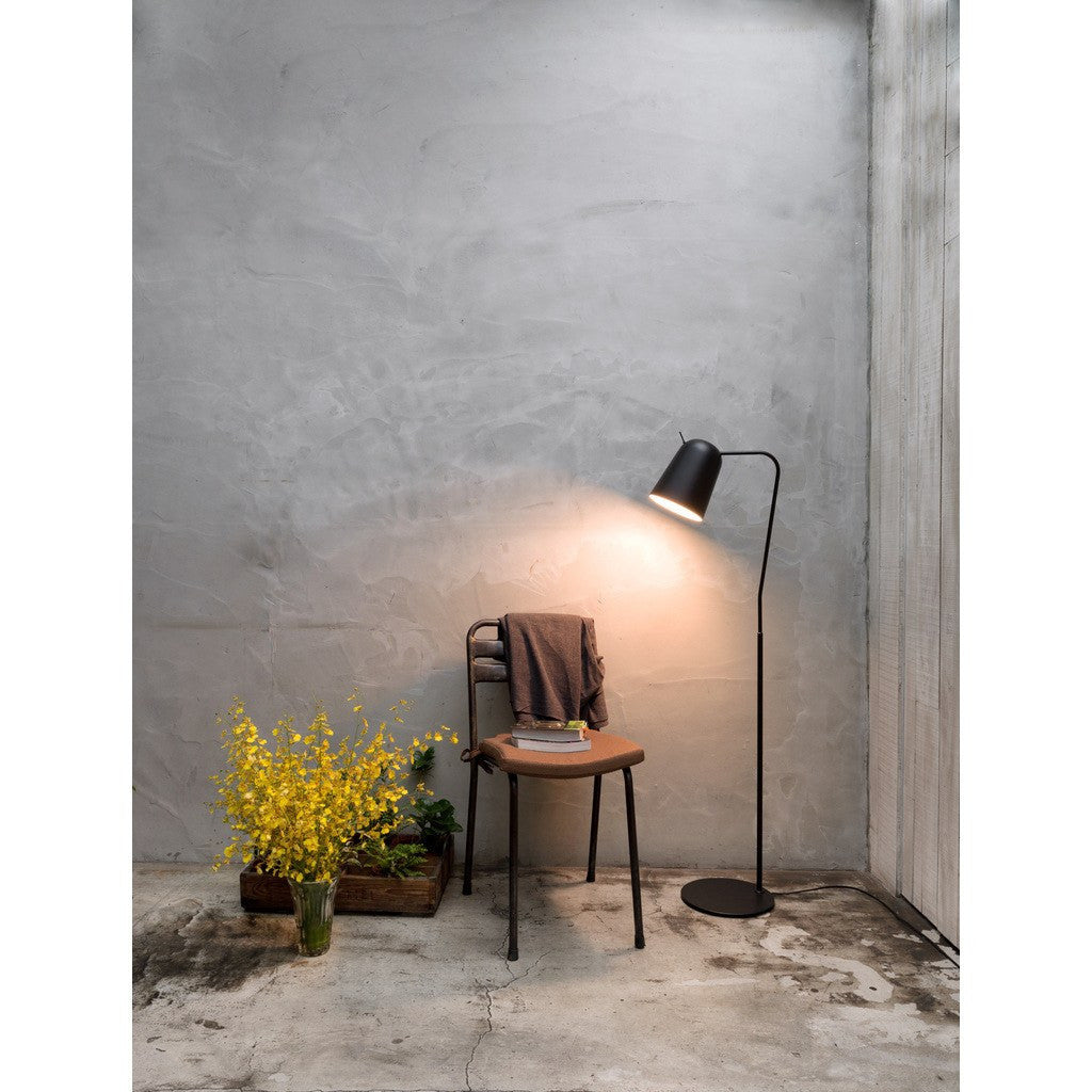 Seed Design Dodo Floor Lamp | Black SQ-218FR-BK