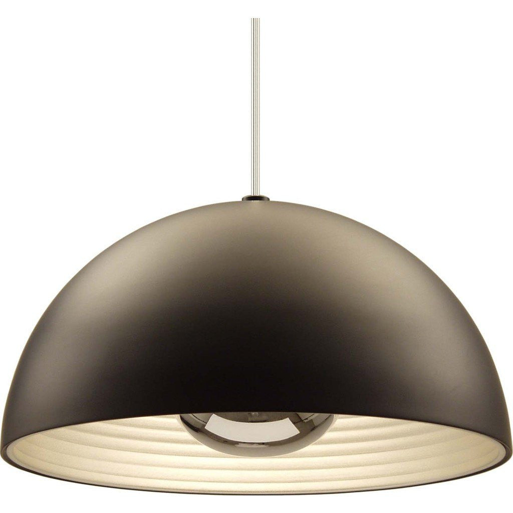 Seed Design Dome Large Pendant Lamp | Black SQ-3650MP-BK