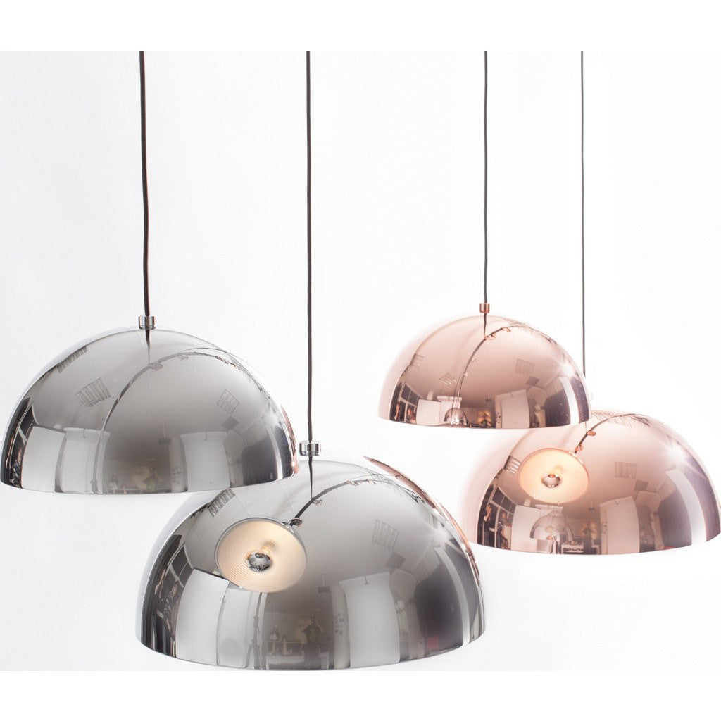Seed Design Dome Large Pendant Lamp | Chrome SQ-3650MP-CPM