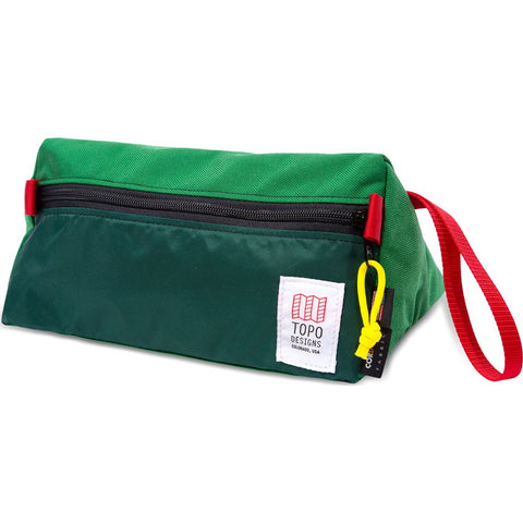 Topo Designs Dopp Kit | Red/Navy