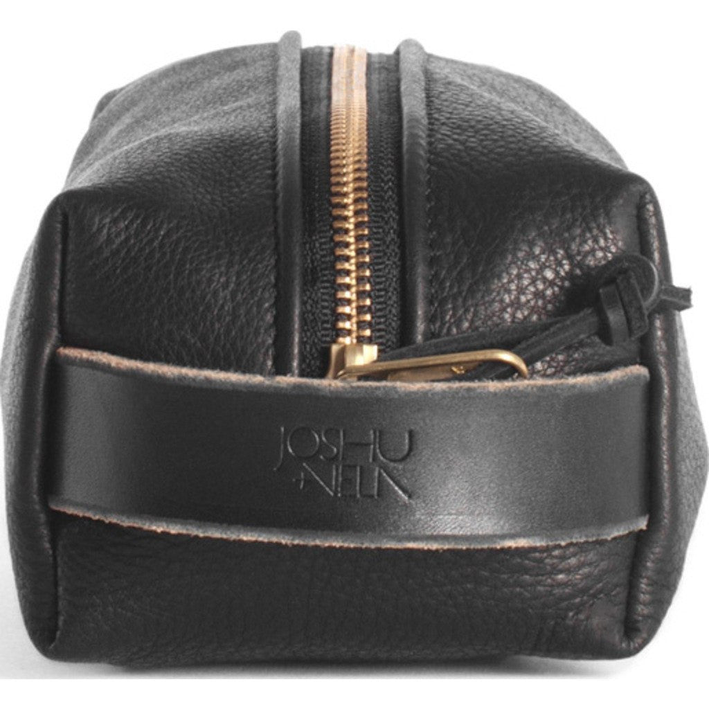 Joshu+Vela Dopp Kit | Black Leather JV4210-BLACK