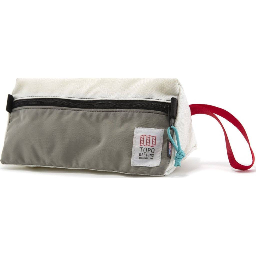 Topo Designs Dopp Kit | White/Silver