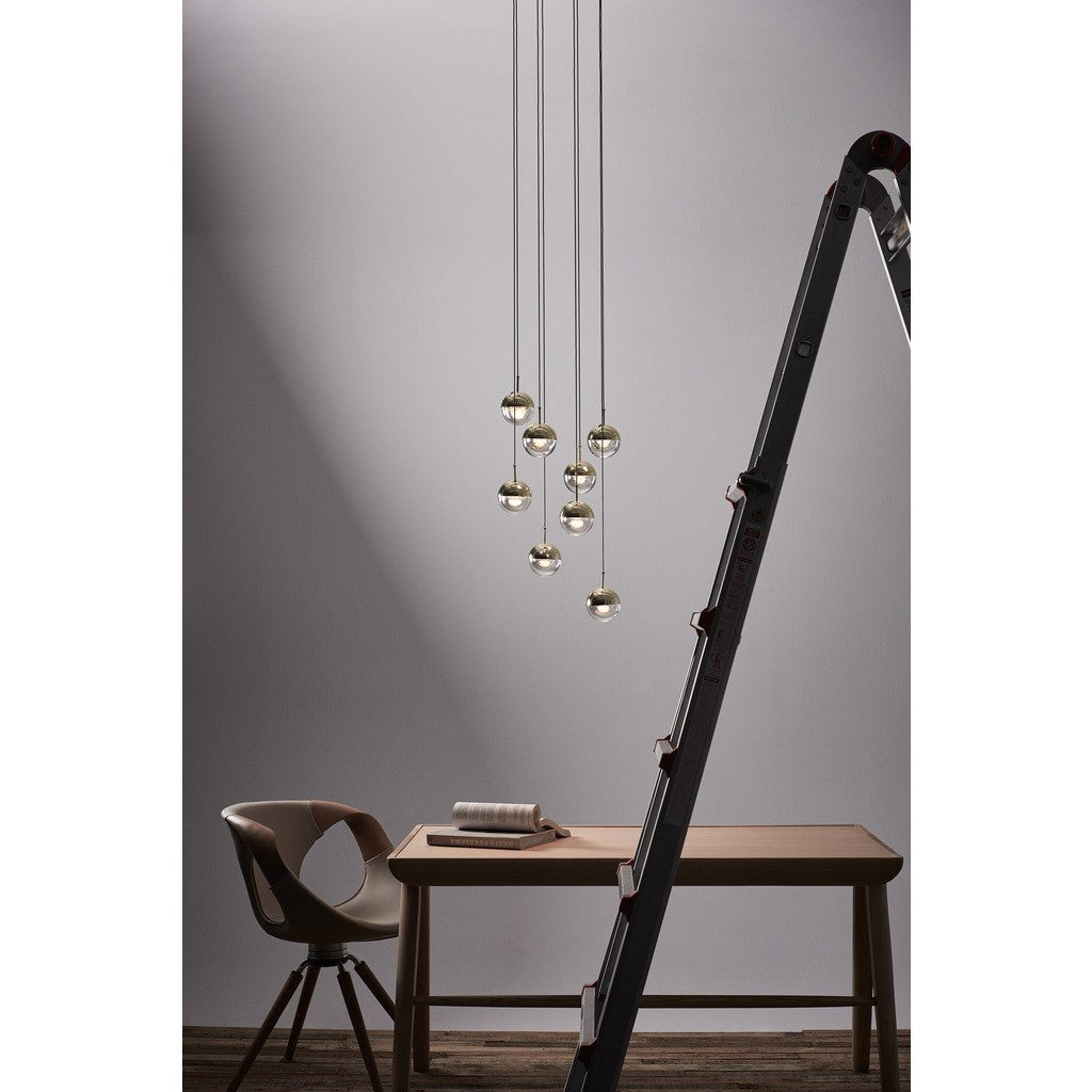 Seed Design Dora Pendant Single Light | Copper