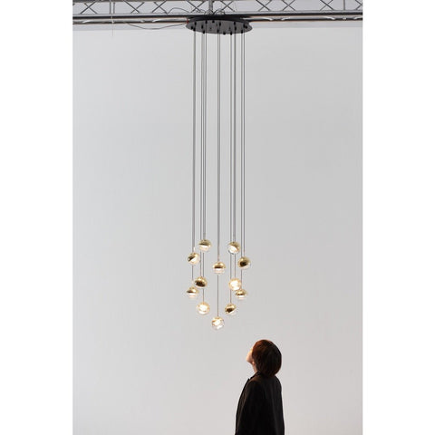 Seed Design Dora 12-Light Pendant | Brass
