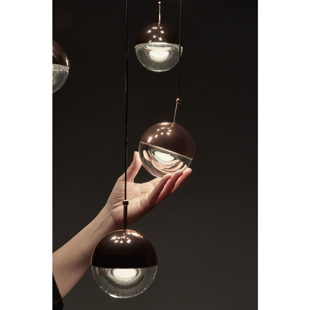 Seed Design Dora Pendant 3- Light Set | Chrome