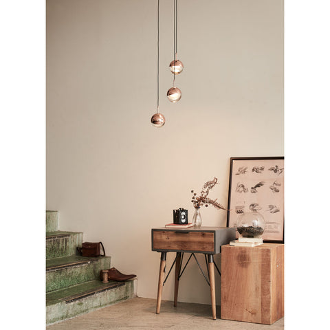 Seed Design Dora Pendant 3- Light Set | Copper- SLD-1010P3-CPR