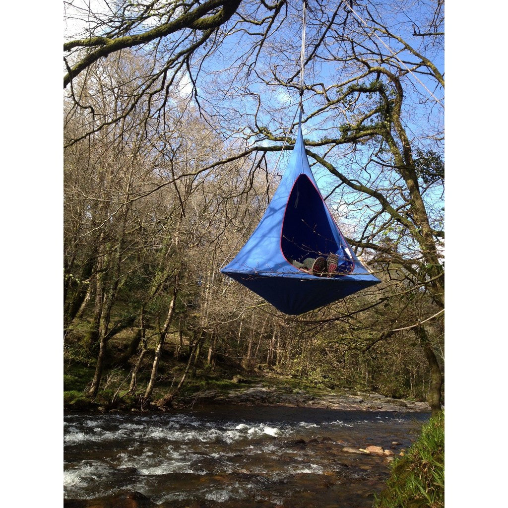 Cacoon Double Hanging Hammock | Sky Blue DB004