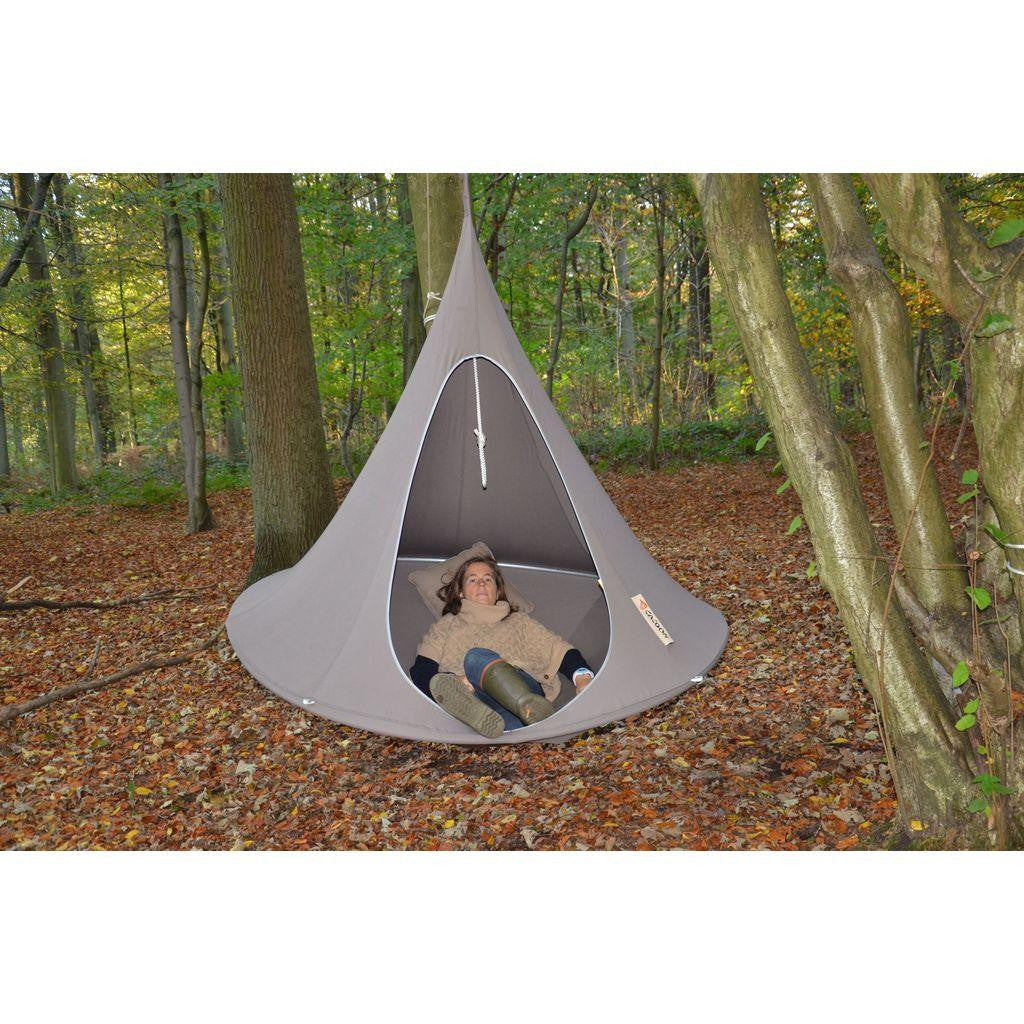 Cacoon Double Hanging Hammock | Deep Taupe DT007