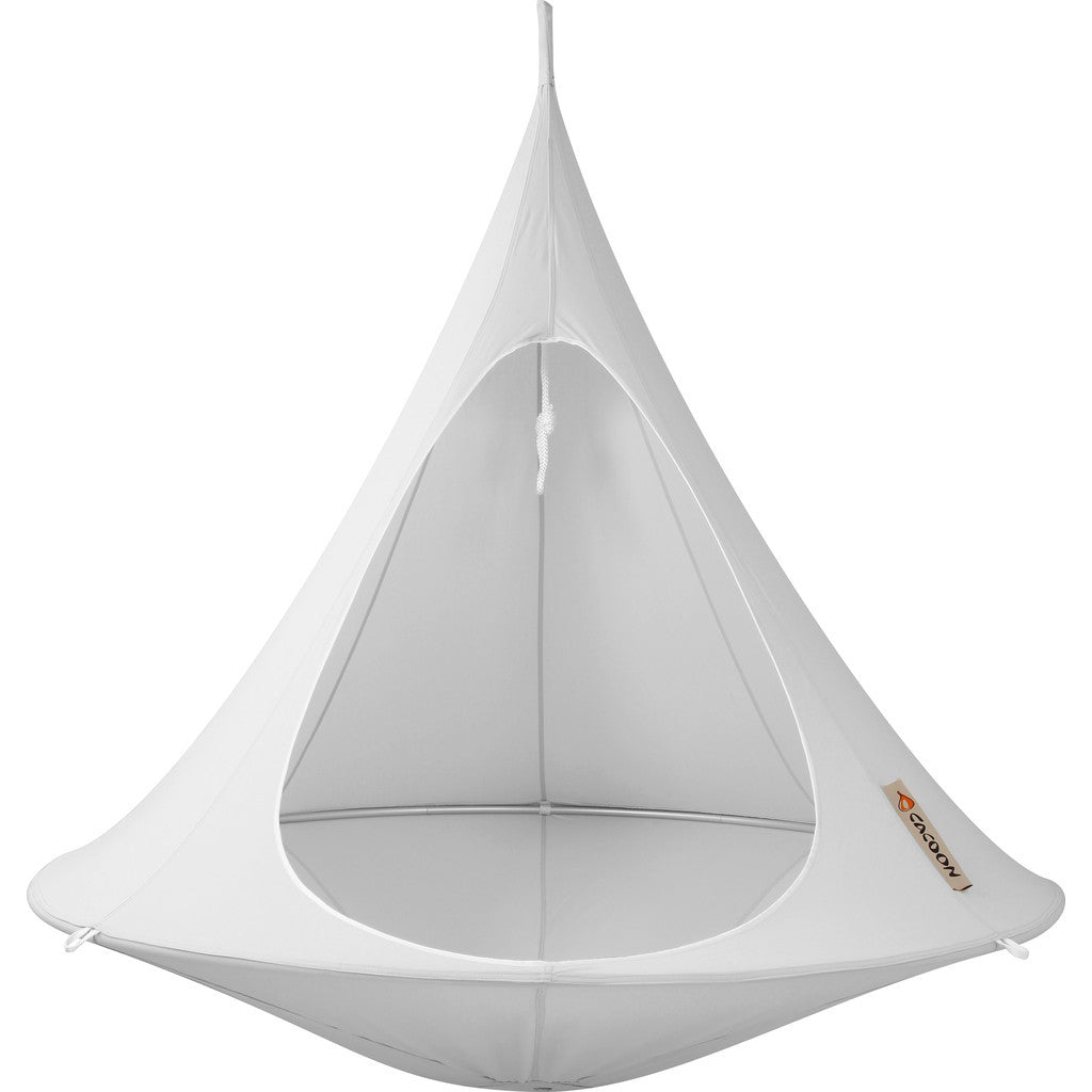 Cacoon Double Hanging Hammock | Light Grey DY006