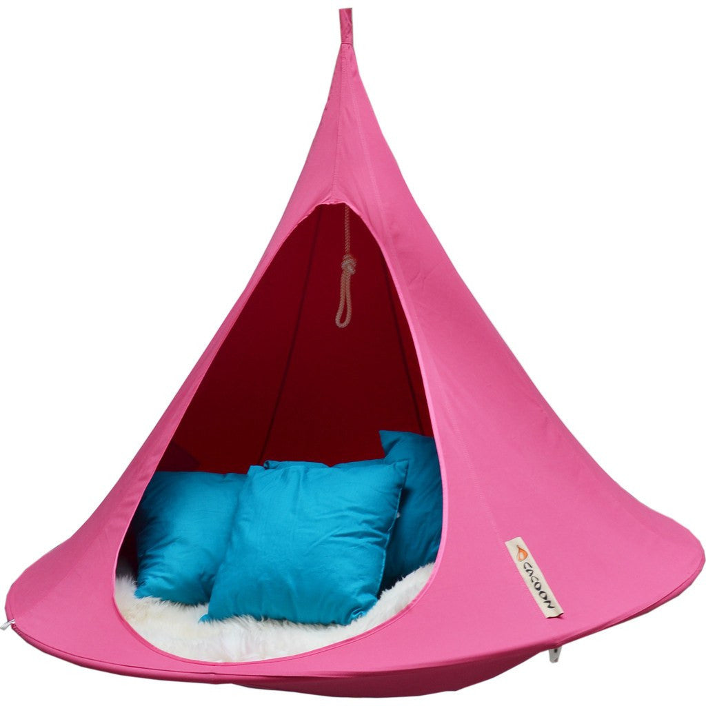 Cacoon Double Hanging Hammock | Fuchsia DF011