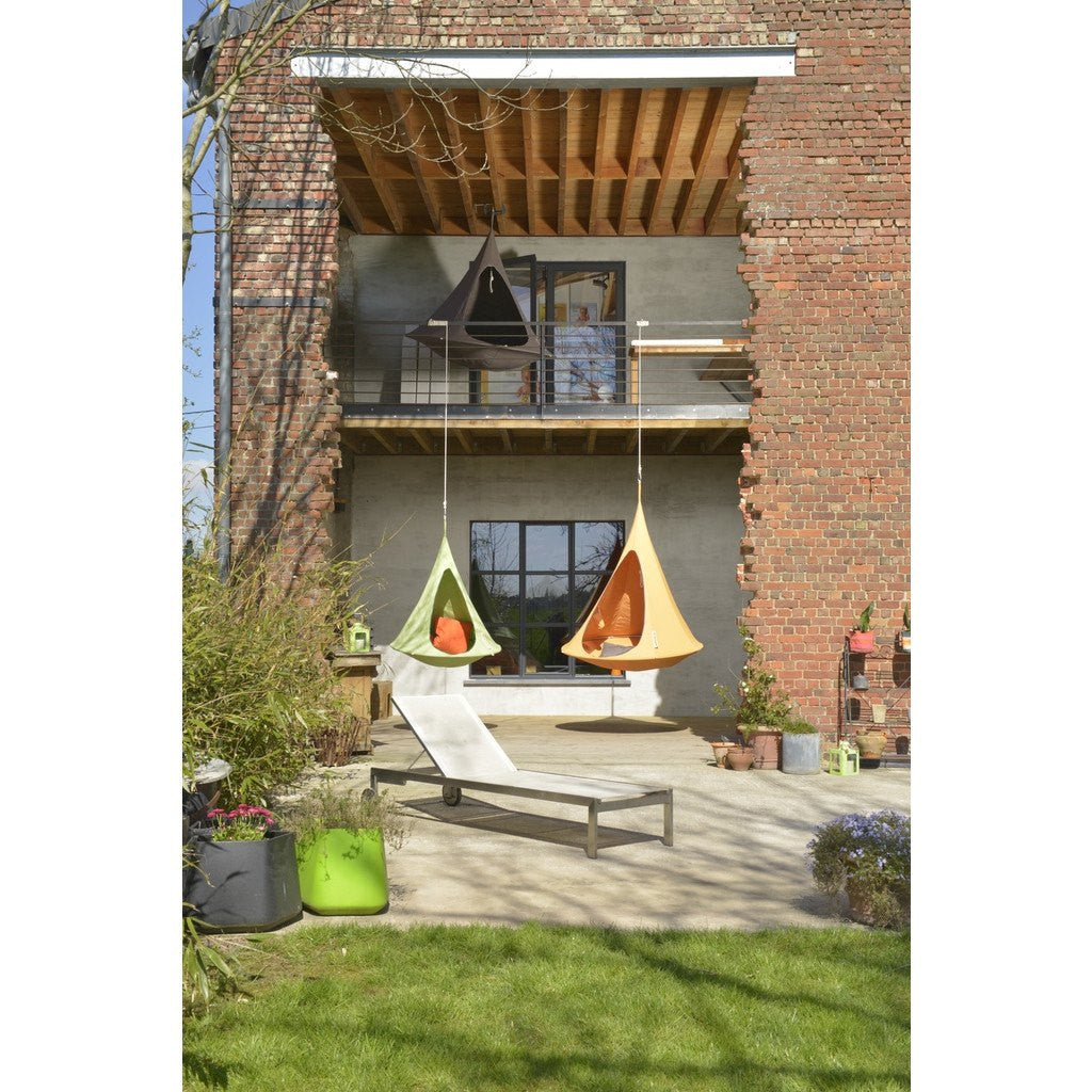 Cacoon Double Hanging Hammock | Mango Orange DM003