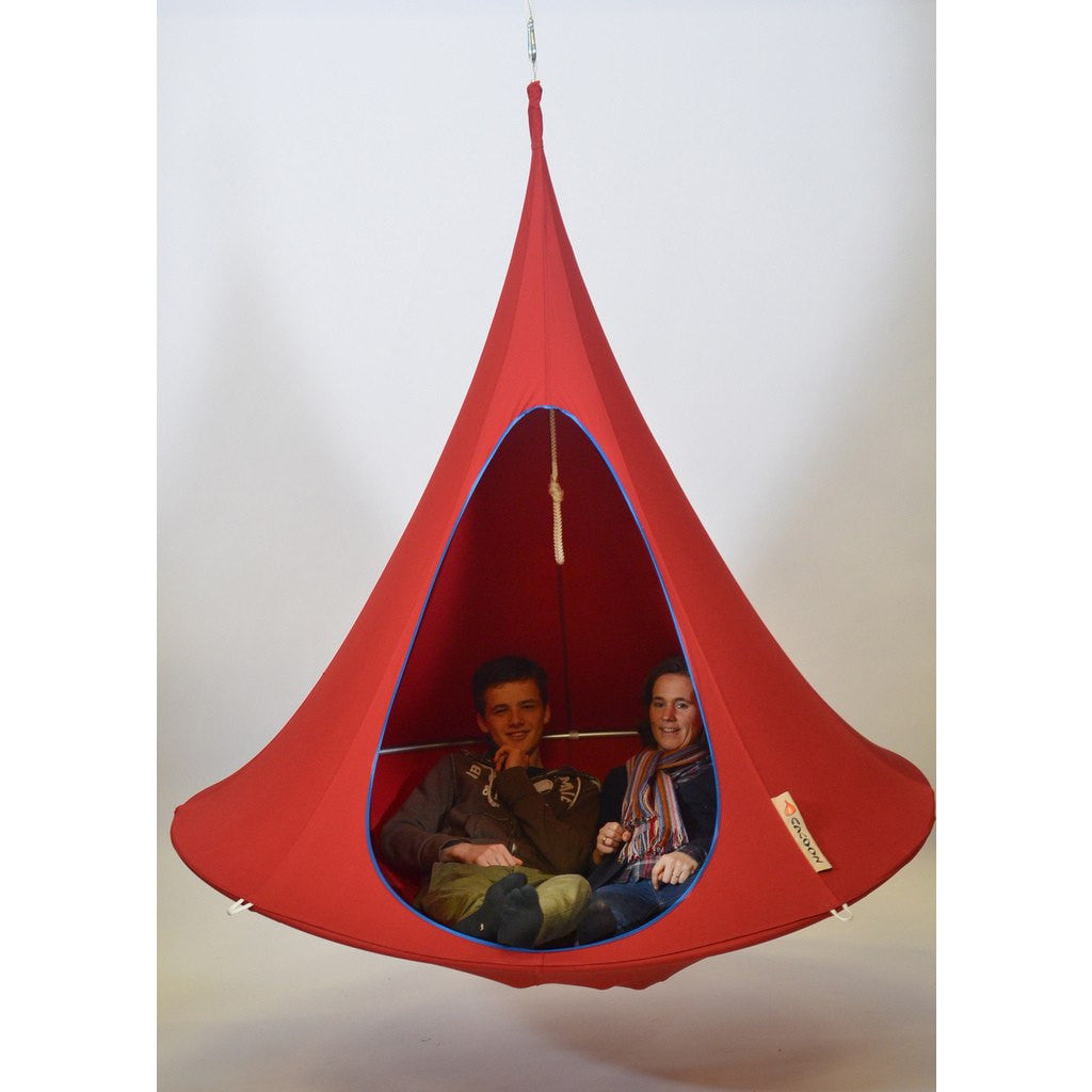 Cacoon Double Hanging Hammock | Chili Red DR005