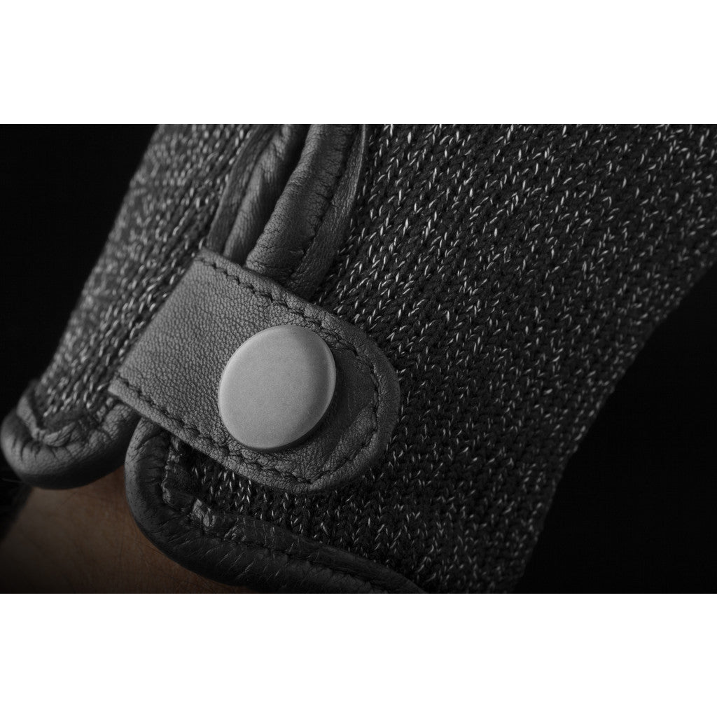 Mujjo Double Layered Touchscreen Gloves | Black Size L MUJJO-GLKN-012-L