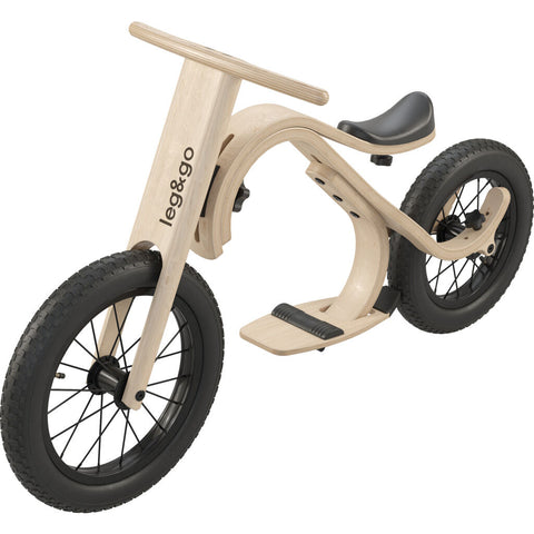 Leg & Go Kid's Balance Bike Bundles | Birch Wood