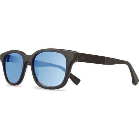 Revo Eyewear Drake Black Leather Sunglasses | Blue Water RE 1007J 01 GBL