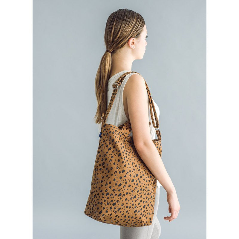 Baggu Recycled Canvas Duck Bag | Leopard