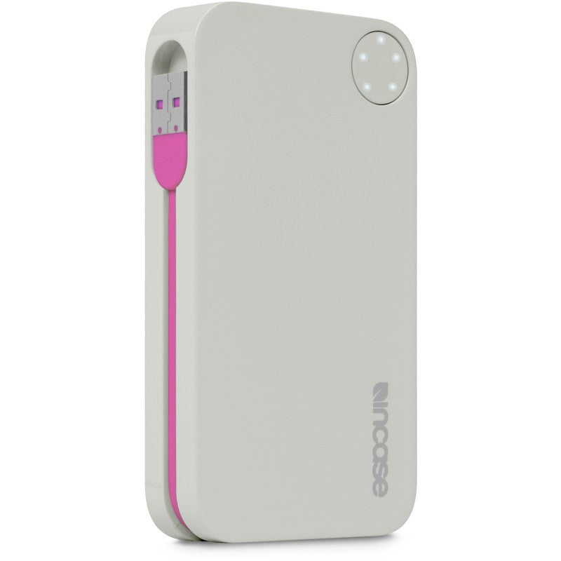 Incase Portable Power 5400 | Grey/Magenta EC20111
