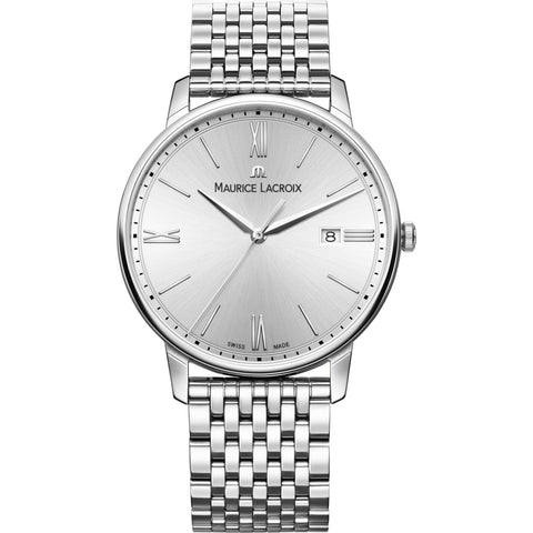 Maurice Lacroix Eliros Date 40mm Watch | Silver EL1118-SS002-110-2