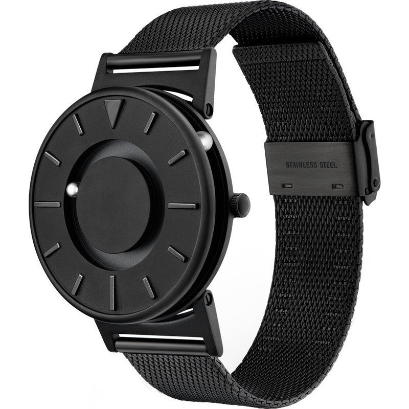 Eone Bradley Watch Black | Black Steel Mesh