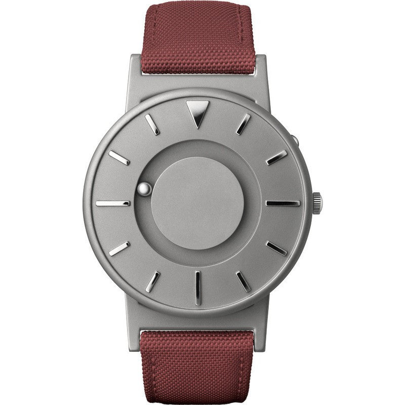Eone Bradley Watch Classic | Crimson Canvas & Leather