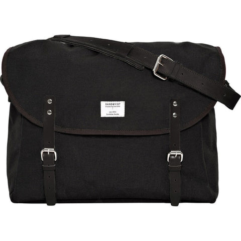 Sandqvist Erik Messenger Bag | Black