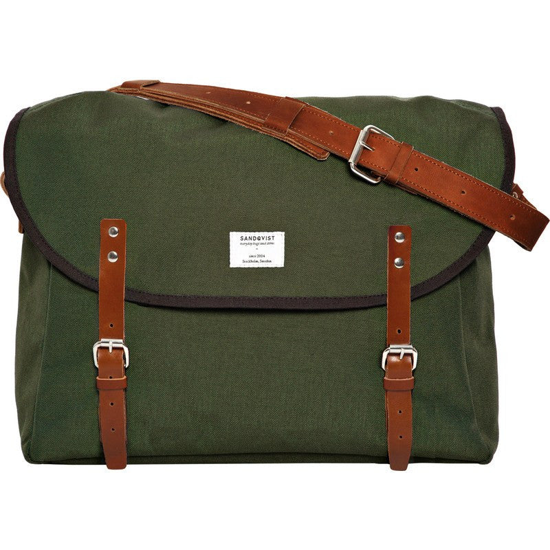 Sandqvist Erik Messenger Bag | Green