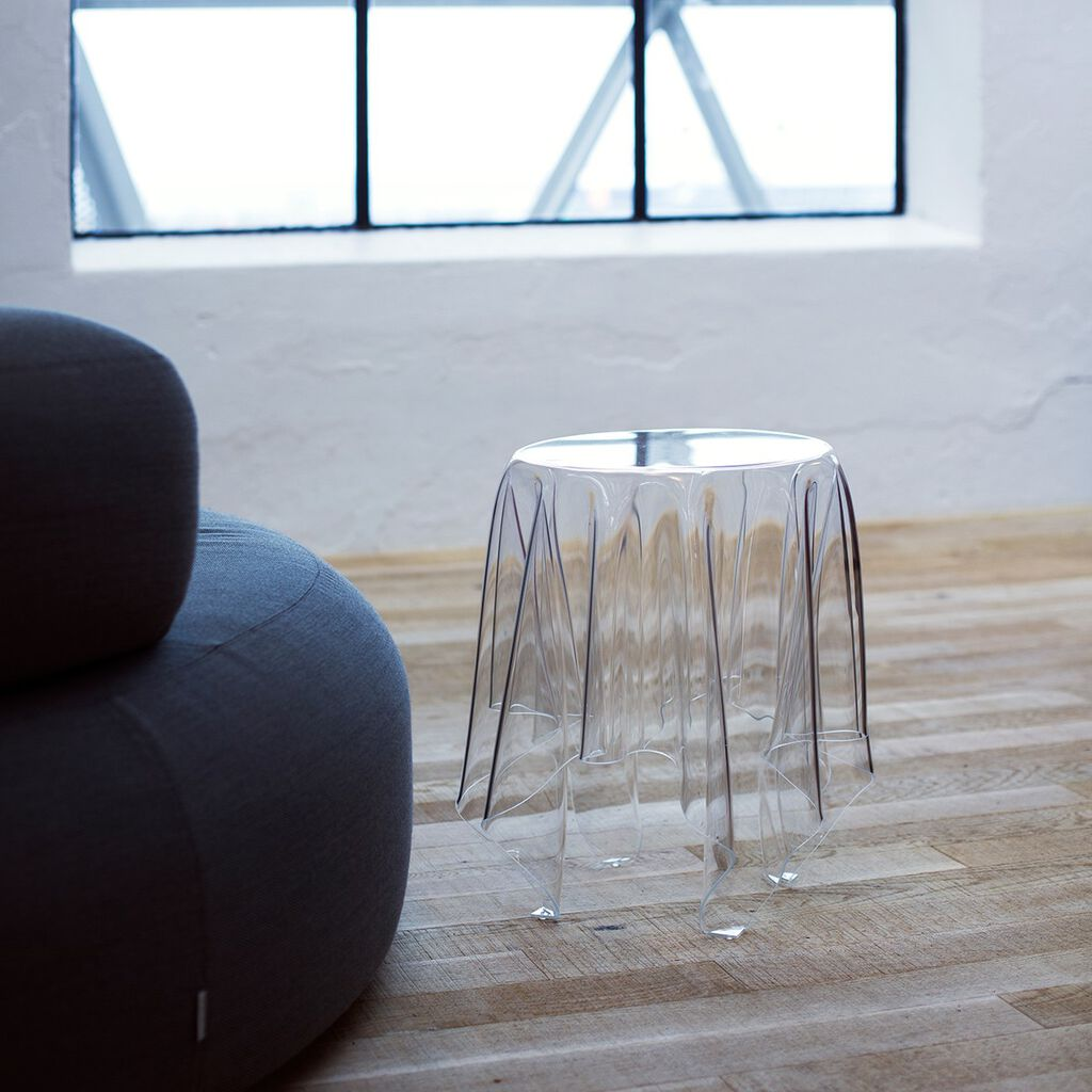 Essey Illusion Side Table | Clear --Small ES-ILLU-C