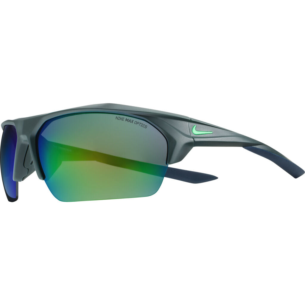 Nike Terminus Mirrored Sunglasses|Matte Seaweed/Electro Green  Grey W/ Ml Green Flash EV1031-333