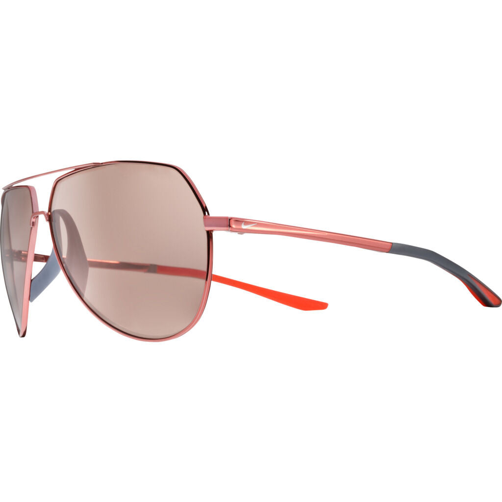 Nike Outrider Mirrored Course Tint Sunglasses|Total Crimson Course Tint W/ Copper Mirror EV1086-820
