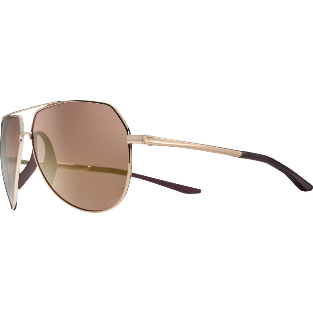 Nike Outrider Mirrored Course Tint Sunglasses|Copper/Deep Burgandy/Bordeaux Course Tint W/ Bronze Mirror EV1086-828