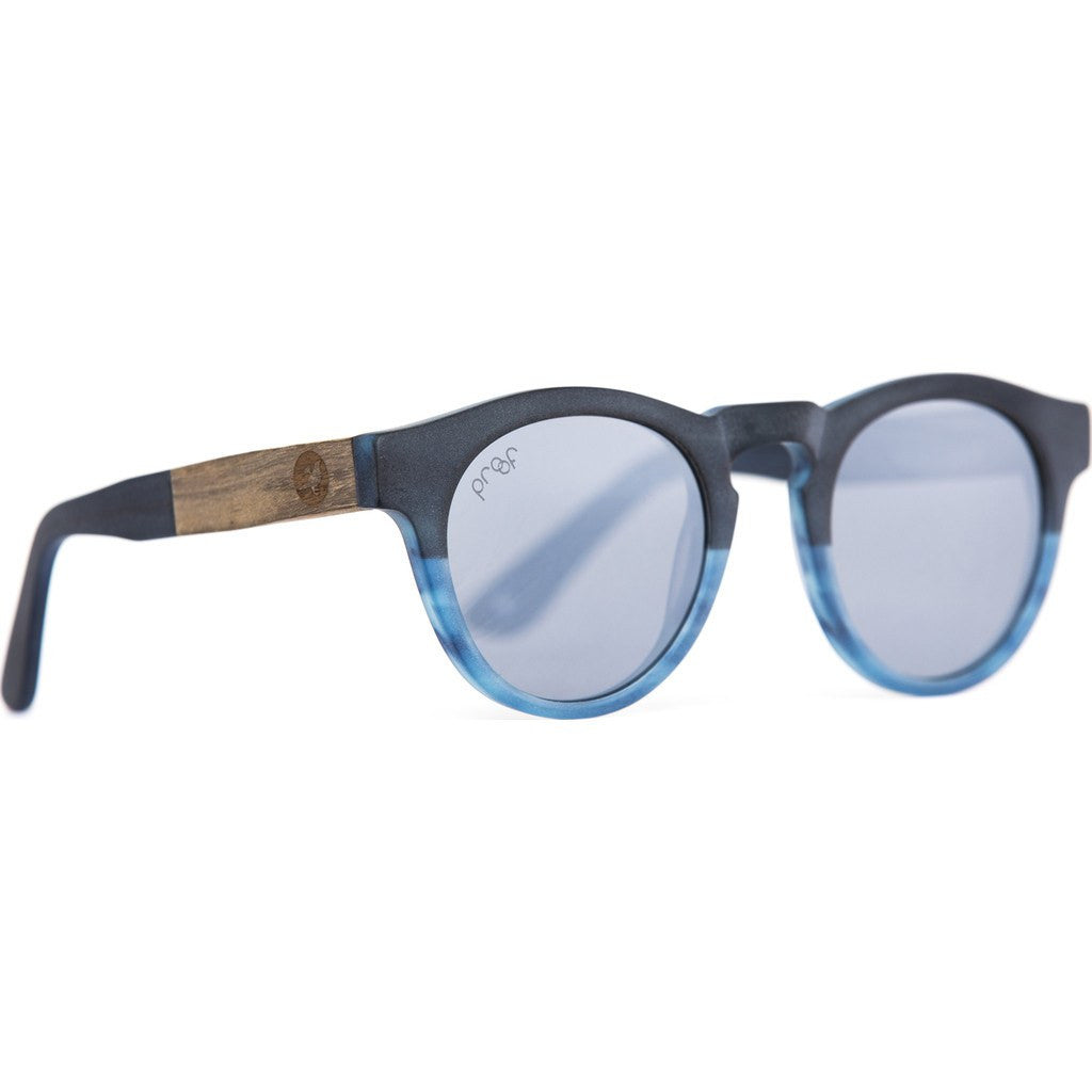 Proof Banks Eco Sunglasses | Blue/Silver Mirror ebnkblueslvr