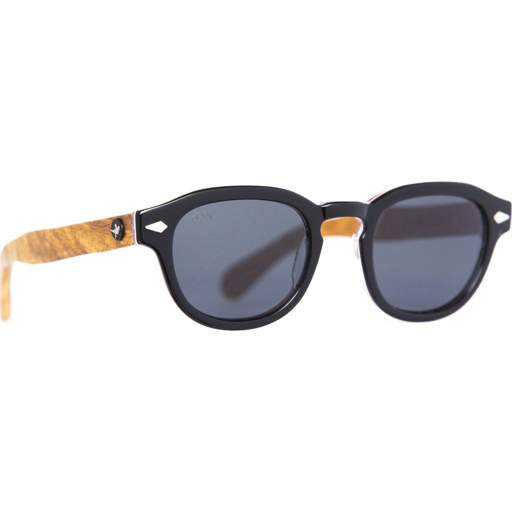 Proof Chaplin Eco Sunglasses | Black/Polarized chpblkpol