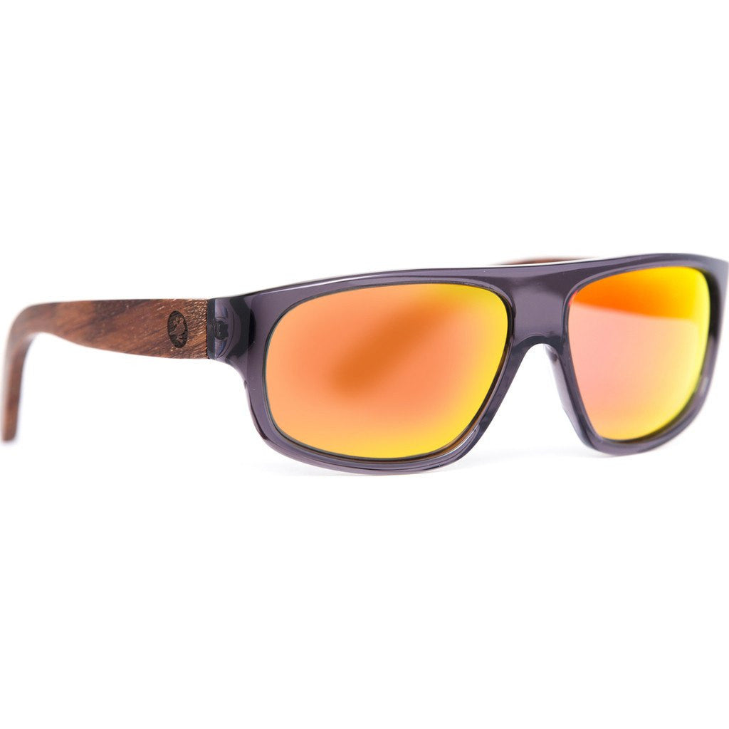 Proof Rockies Eco Sunglasses | Matte Gray/Fire erocmgryfire