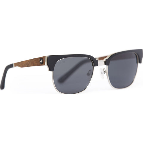 Proof Sawtooth Eco Sunglasses | Blackbone/Silver esawblkslvr