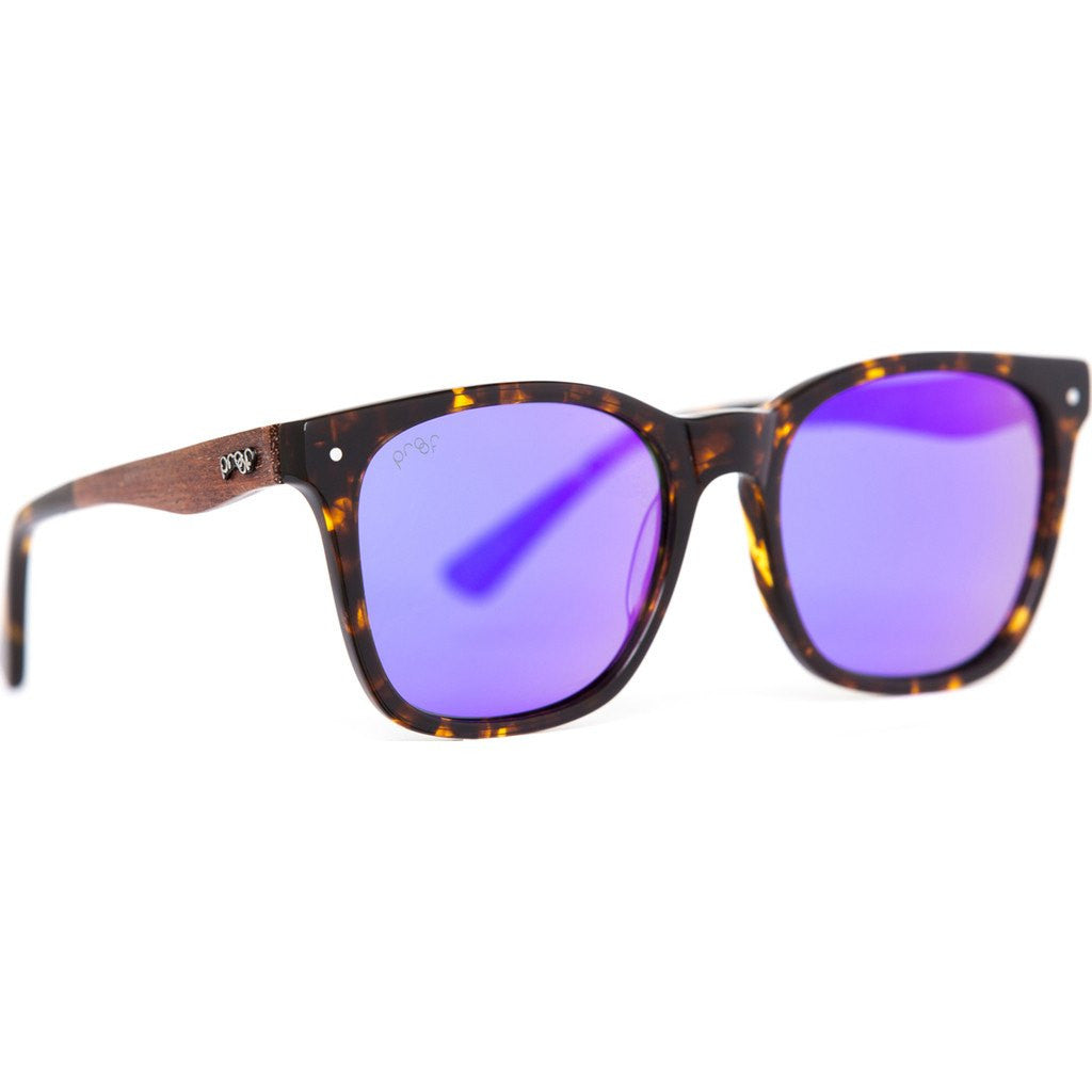 Proof Scout Eco Sunglasses | Tortoise/Purple Polarized escomtorhaze