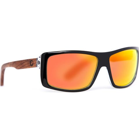 Proof Wasatch Eco Sunglasses | Matte Black/Fire ewstmblkfire