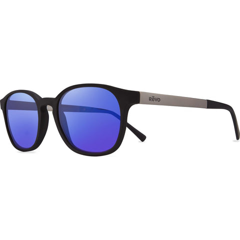 Revo Eyewear Easton Matte Black Sunglasses | H20 Blue RE 1044 01 GBH
