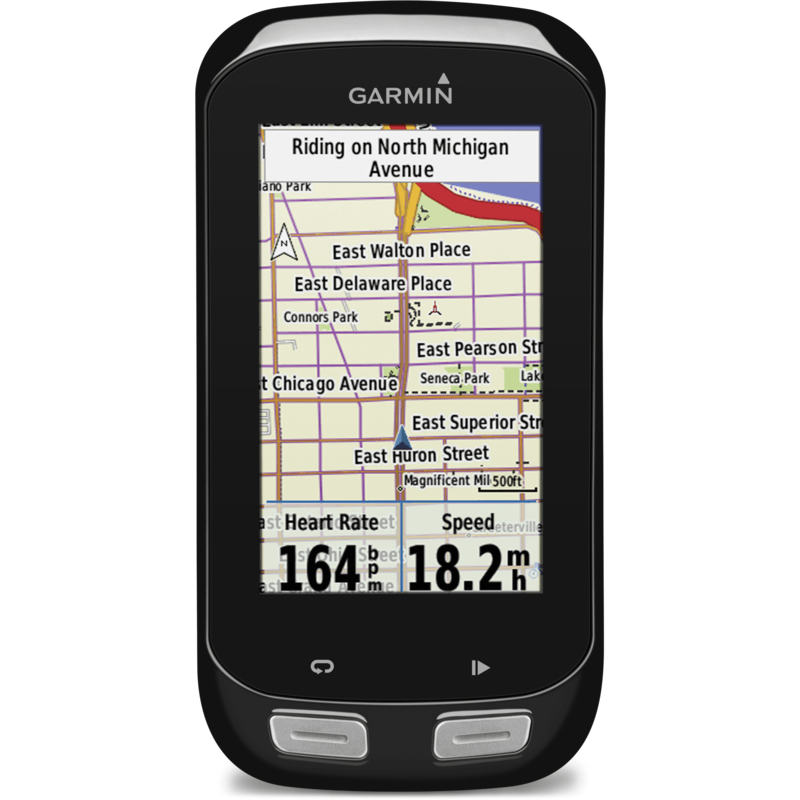 Garmin Edge 1000 GPS Touchscreen Bike Computer Bundle | Black