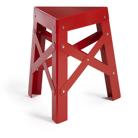 RS Barcelona Aluminum Eiffel Stool | Red-EALRE