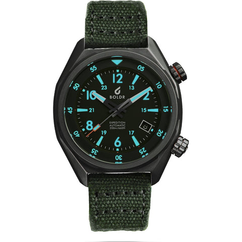 BOLDR Expedition Automatic Field Watch | El Capitan