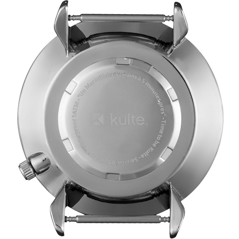 Kulte Electric Ocean Silver Watch | Light Blue Mesh KUL02