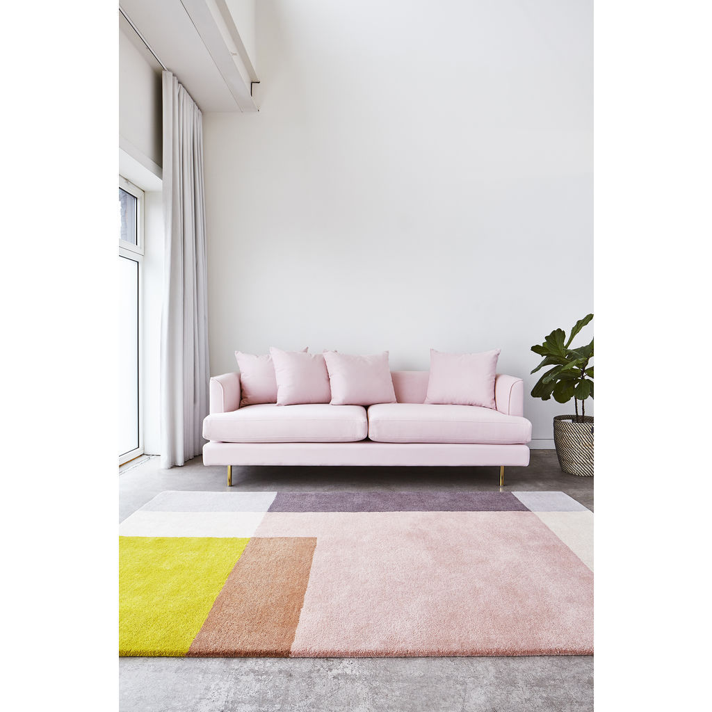 Gus* Modern Element Rug | Rose