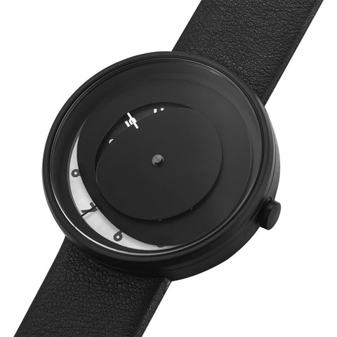 Projects Watches Elos Steel Watch | Black/Leather-7219 B-BL