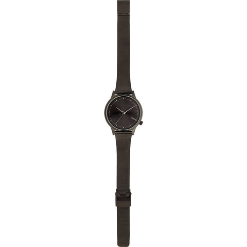 Komono Estelle Royal Watch | Black-Silver KOM-W2864