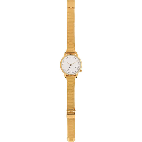 Komono Estelle Royal Watch | Gold-White KOM-W2865