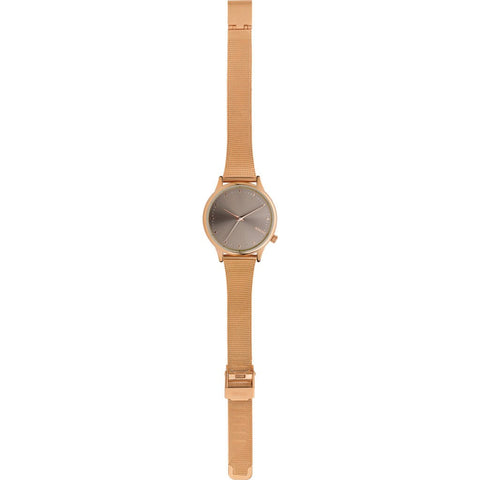 Komono Estelle Royal Watch | Rose Gold Grey KOM-W2866
