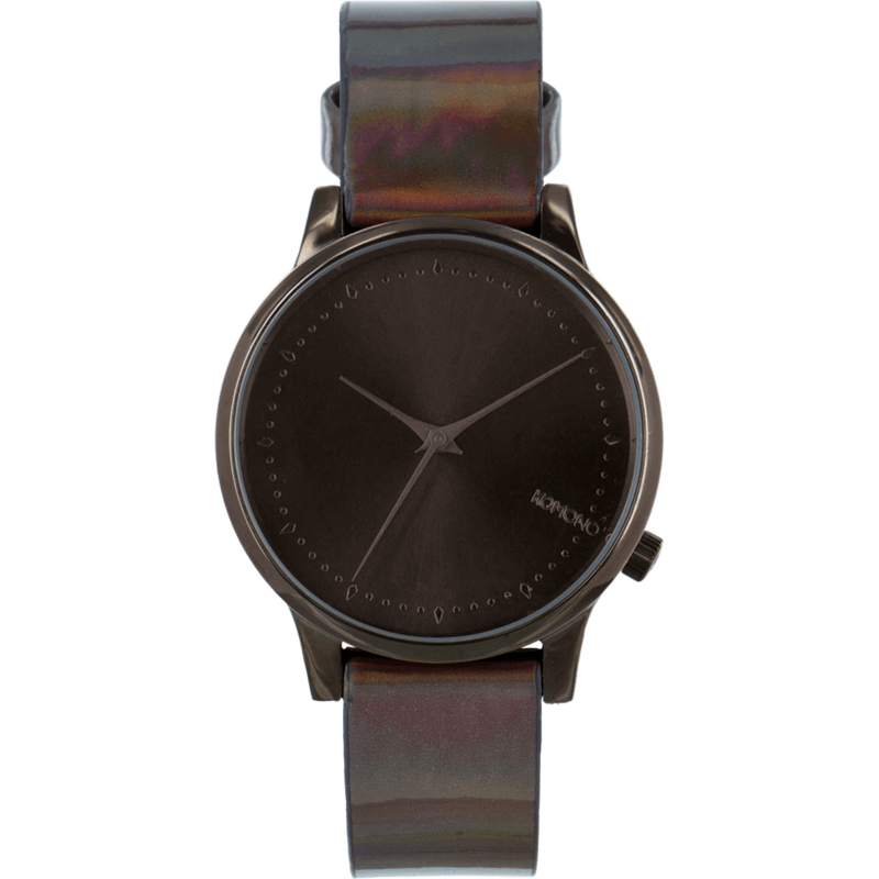 Komono Estelle Watch | Iridiscent Black